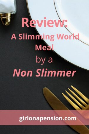 Review: A slimming world meal by an non slimmer