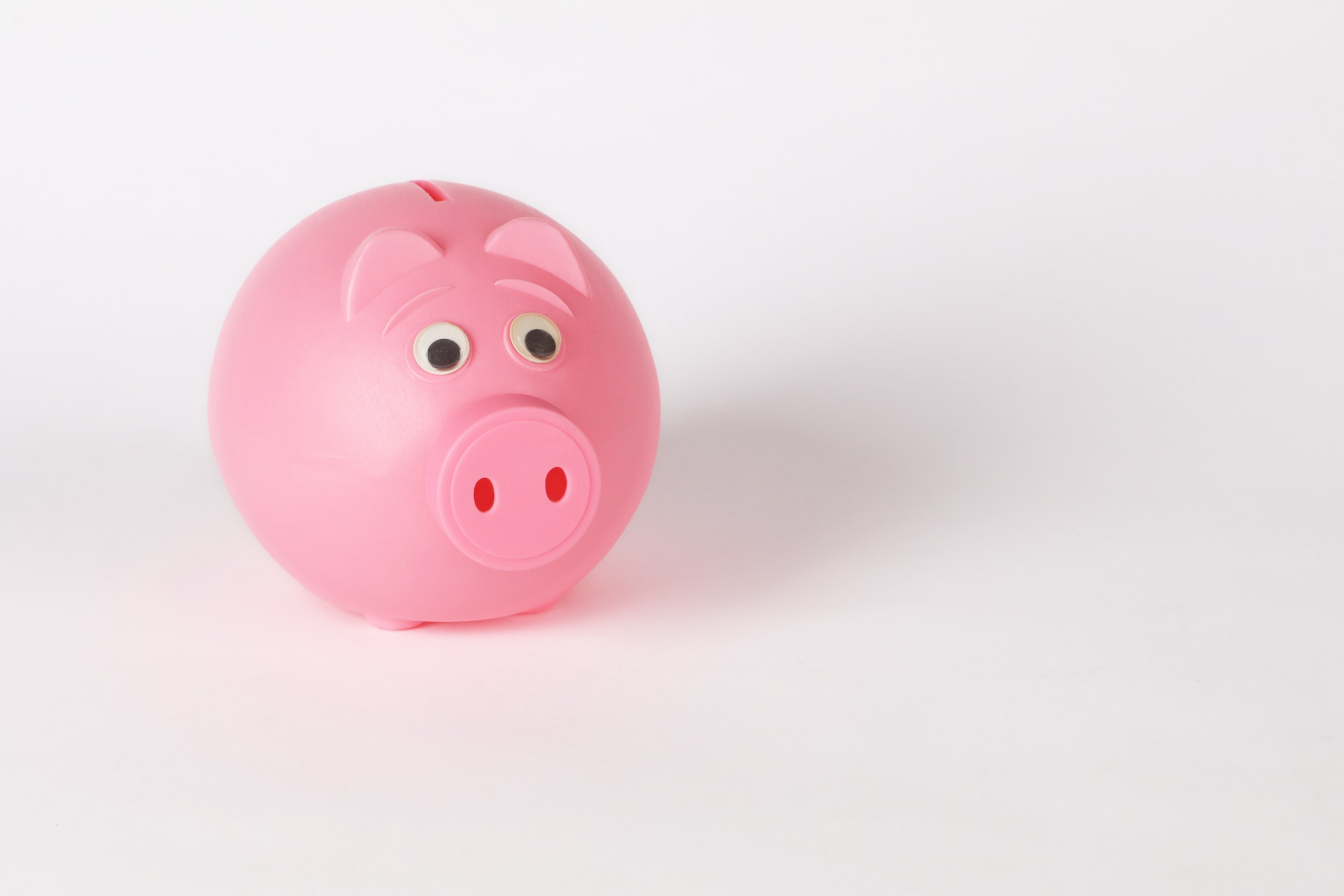 pink pig money box